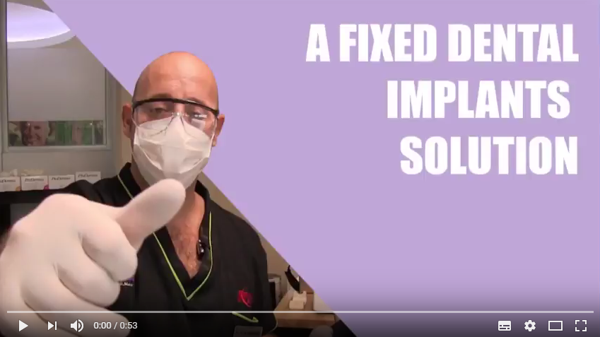 Tutorial: A fixed dental implant solution