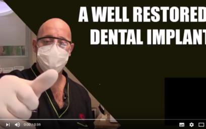 Tutorials: A well restored dental implant